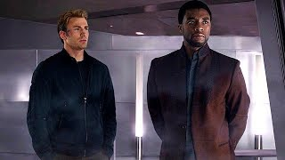 Download Steve Rogers & T'Challa - Wakanda Scene (End Credits) Captain America: Civil War - Movie CLIP HD Video