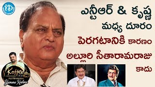 Download Chalapathi Rao Reveals The Reason Why Misunderstandings Raised Between NTR & Krishna |Yamuna Kishore Video