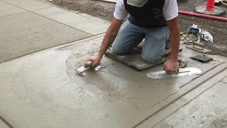Download Beginners Learn to Install a Concrete Walkway in 5 min | Concrete and Cement Work Video