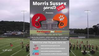 Download Parsippany vs Dover Football Broadcast | 9/14/2018 Video