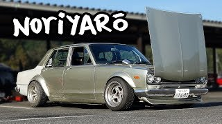 Download Real Hakosuka drift car - owner let me drive it! Video