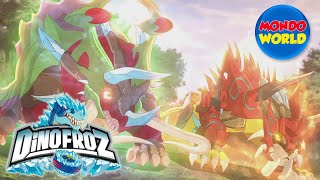Download DINOFROZ episode 21 | THE SHADOW OF THE ENEMY | Dinosaur cartoon for kids Video