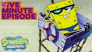 Download SpongeBob SquarePants: SpongeGuard On Duty 🏖️ in 5 Minutes   #TBT Video