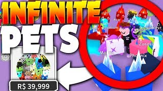 Download BUYING *INSANE* INFINITE PET GAMEPASS!! (40k RBX!) - Roblox Pet Simulator (Update) Video