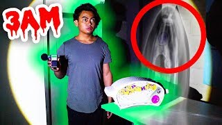 Download GHOST HUNTING WITH AN EZ BAKE OVEN! (Voices Heard 3AM) Video