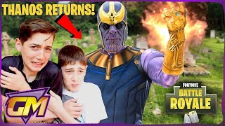 Download Thanos is Back For Revenge in Fortnite!! - Scary Kids Parody (Halloween 2018) Video
