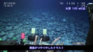 Download 本州近海に位置する拓洋第3海山の水深1500m~5500mの斜面に厚いコバルトリッチクラストの広がりを確認 Video