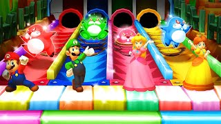 Download Mario Party Star Rush MiniGames - Mario Vs Luigi Vs Peach Vs Donkey Kong (Master Cpu) Video