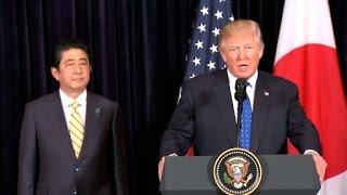 Download Trump, Abe respond to N. Korea missile test Video