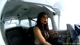 Download Power off landing - First solo flight Video