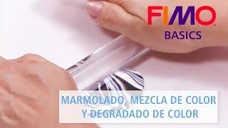 Download FIMO - Marmolado, mezcla de colores y degradados de color - Tutorial FIMO BASICS (español) Video