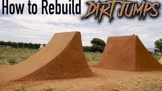 Download How to Rebuild Dirt Jumps Video