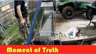 Download Homemade Gold Sluice Test Video