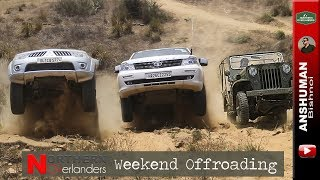 Download Jeep CJ3B, Storme, Fortuner, Thar, Pajero Sport, D-Max: Weekend Offroading | May2018 Video