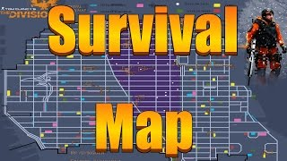 Download The Division - The Most Detailed Survival Map (Division Tech, Medicine, Painkiller Locations) Video