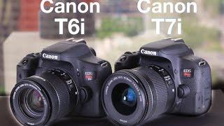 Download Canon T6i vs Canon T7i Hands On Comparison Video