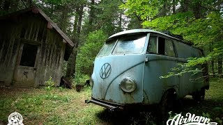 Download RESURRECTION - Rescue of a VW 1955 panelvan - Forest find ! Video