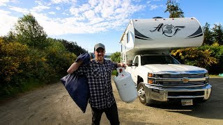 Download Full-Time LIVING in a TRUCK CAMPER ??   RV LIFE Video