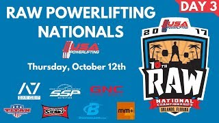 Download Thursday - 2017 USA Powerlifting Raw Nationals Video