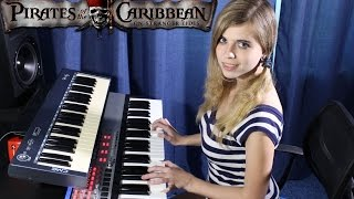 Download Pirates of the Caribbean (keyboard cover by Mary Light) Video