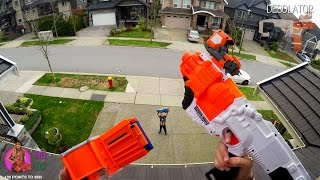 Download Nerf War: BROTHER vs SISTER | First Person 4K GUN GAME! (Call of Duty) Video