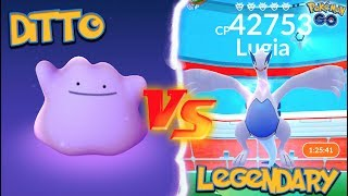 Download WHAT HAPPENS WHEN YOU USE A DITTO AGAINST A LEGENDARY IN POKÉMON GO?! Video