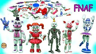 Download Five Nights At Freddy's Sister Location Funko Ballora, Baby, Funtime Foxy FNAF Game Toys Video