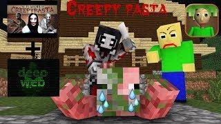 Download Monster School : Baldi's Creepy Pasta & Deep Web Challenge (Part 1) - Minecraft Animation Video