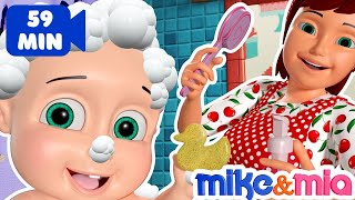 Download Bath Song | Baby Bath Time | Nursery Rhymes for Babies Video