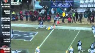 Download ESPN - The Blitz - Green Bay Packers at Philadelphia Eagles Highlights 1-9-2011 Video