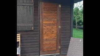 Download Деревянная дверь своими руками - просто, дешево, красиво Video