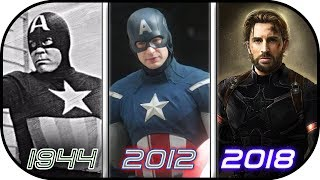 Download EVOLUTION of Captain America in Movies (1944-2018) History of Avengers Infinity War Video