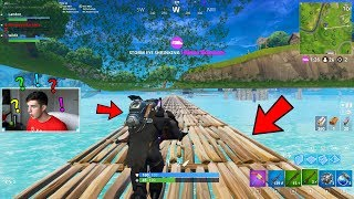 Download GOING UNDER THE MAP in Fortnite Battle Royale! Video