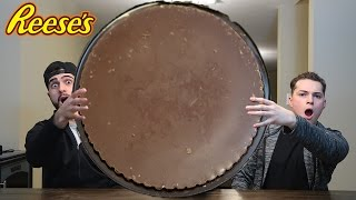 Download EATING THE WORLDS BIGGEST REESE'S CUP! Video