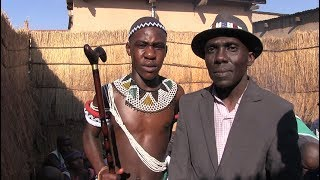 Download Boys to men: Youths return home after initiation ritual. Video