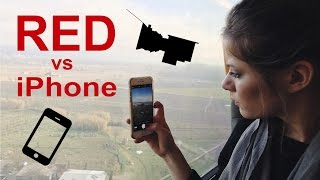 Download iPhone Video vs 8K Helium RED EPIC-W Video