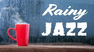 Download 🔴 Relaxing Rainy Jazz - Lounge Jazz Radio - Music For Work & Study - Live Stream 24/7 Video