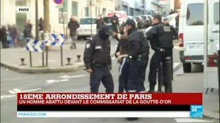 Download EN DIRECT sur France 24 : Un homme interpellé par la police tente de s'enfuir - PARIS Video