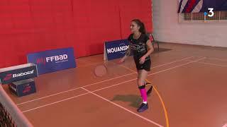 Download Coraline Bergeron, une jeune Saintaise championne de France de Para Badminton Video
