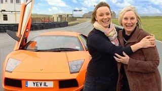 Download Lamborghini Murcielago With Vicki's Mum! #TBT - Fifth Gear Video