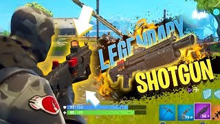Download *EARLY GAMEPLAY* New HEAVY SHOTGUN in Fortnite: Battle Royale Video