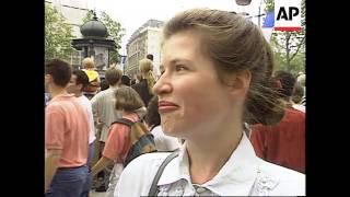 Download France - Germans Join Bastille Day Parade Video