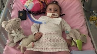 Download 1-Year-Old Girl Wakes From Coma As Doctors Were Ready To Turn Off Life Support Video