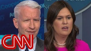 Download Anderson Cooper calls out Sarah Sanders' promise Video