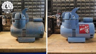 Download Old Airbrush Compressor Restoration Video