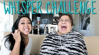 Download THE WHISPER CHALLENGE with MAMA! - June 12, 2016 - ItsJudysLife Vlogs Video