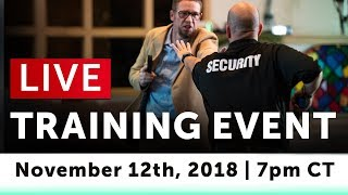 Download How To Prepare For, Prevent, & Stop A Mass Shooter Threat - LIVE Training Video