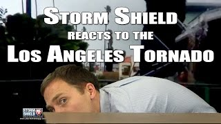 Download Tornado in South Los Angeles: Storm Shield Video Response Video