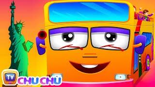 Download Wheels On The Bus   New York City   Popular Nursery Rhyme by ChuChu TV Video