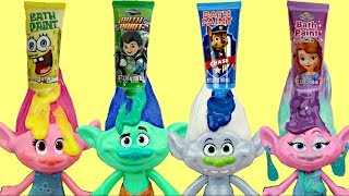 Download Dreamworks TROLLS Bath Time Paint with Orbeez Magic, Bubbles, Poppy & Branch Video
